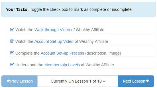Wealthy Affiliate Online Training 2016