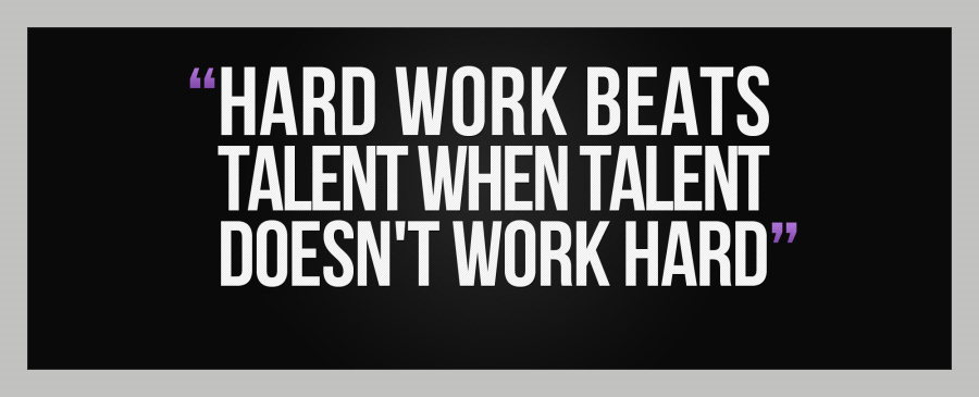 Affiliate Marketing Hard Work Beats Talent