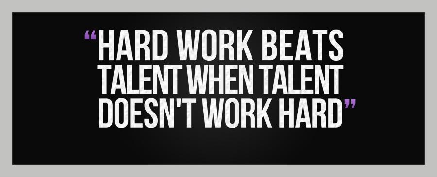 Affiliate Marketing Hard Work Beats Talent