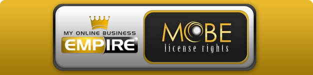 MOBE License Rights banner