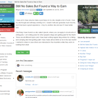 "Wealthy Affiliate – Success story ""Still No Sales. But Found a Way.."""