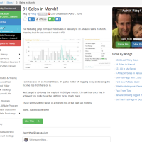 "Wealthy Affiliate – Success story ""31 Sales in March!"""