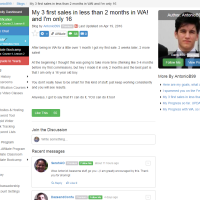 """Wealthy Affiliate – Success story """"My 3 first sales in less than 2.."""""""