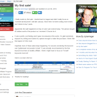 """Wealthy Affiliate – Success Story """"My first sale!"""""""