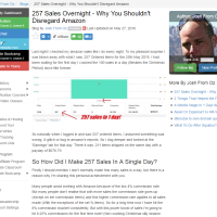 "Wealthy Affiliate – Success story ""257 Sales Overnight"""