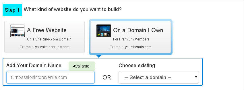 siterubix_premium_option